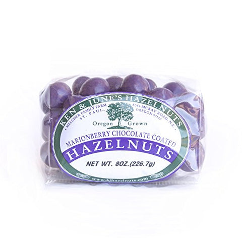 Marionberry Candy Coated Hazelnuts - 8 Oz Bag