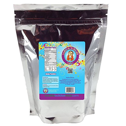Taro Boba / Bubble Tea Powder By Buddha Bubbles Boba 1 Pound (16 Ounces) | (453 Grams)