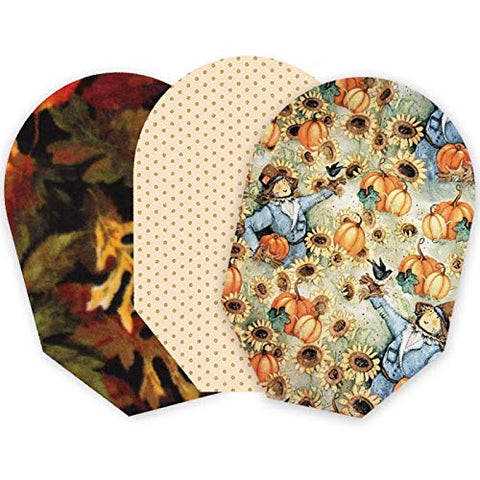Autumn Pack of 3 Pouch Covers - Closed End