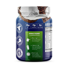 About Time Keto Shake with Bovine Collagen Protein + MCTs from Coconuts - 19g Fat, 11g Protein, 5g Net Carbs - Chocolate Coconut, 1lb Jar