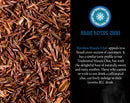 Image of Blue Lotus Chai - Rooibos Flavor Masala Chai - Makes 65 Cups - 2 Ounce Masala Spiced Chai Powder with Organic Spices - Instant Indian Tea No Steeping - No Gluten