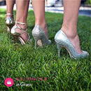 Image of Solemates High Heel Clear Protectors (Clear, Wide)