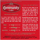 Image of Community Coffee French Vanilla Flavored Medium Roast Single Serve 36 Ct Box, Compatible with Keurig 2.0 K Cup Brewers, Medium Full Body Rich Creamy Taste, 100% Arabica Coffee Beans
