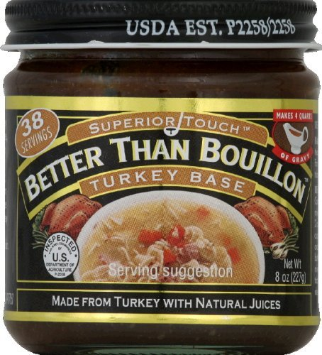 Superior Touch Better Than Bouillon Turkey Base, 8 Ounce (Pack of 6)