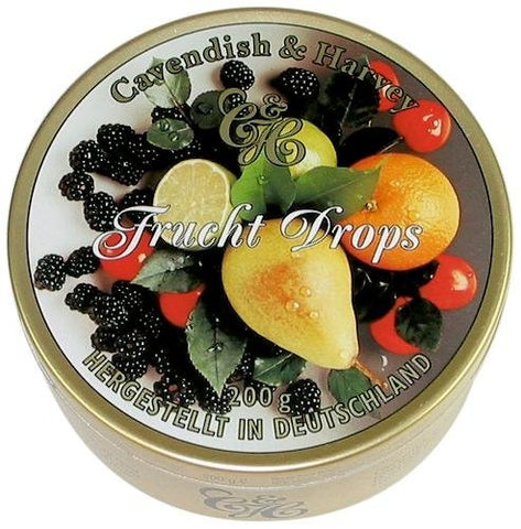 Cavendish and Harvey Mixed Fruit Drops 200g (3 Pack)