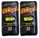 Image of (2 Pack) Puerto Rican Coffee -14 Ounce Bags El Coqui Puro Cafe (28 Ounce Total)