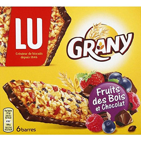 LU Grany Moelleux Fruits of the Forest (x6) 192g