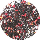 Image of Greenhilltea elderberry fruit iced tea, fully flavoured natural loose leaf tea with deep berry notes- 8 Oz Bag