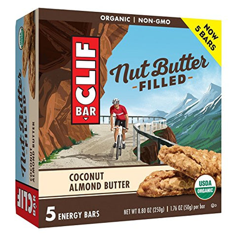 CLIF Bar Coconut Almond Butter Filled Energy Bars - 8.8oz, pack of 1