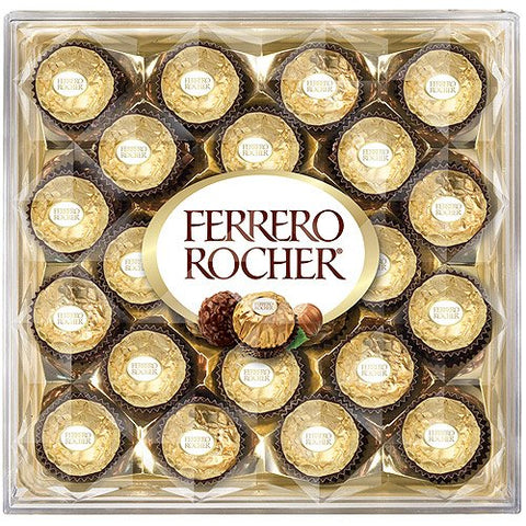 Ferrero Rocher Fine Hazelnut Chocolate 10.6oz (4 Pack)
