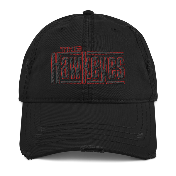 Distressed Ever For After Hawkeyes Hat