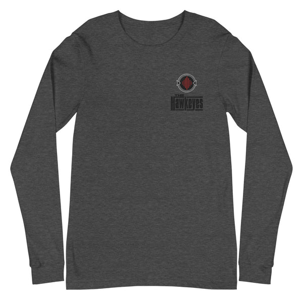 Black Emblem Long Sleeve Tee