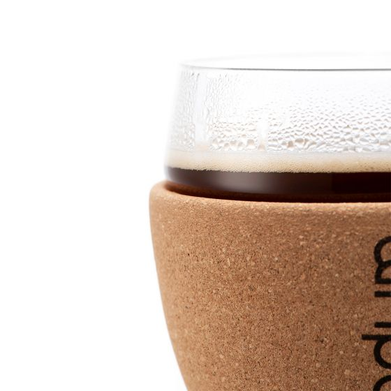 Bodum 2 Glasses with Cork Sleeve