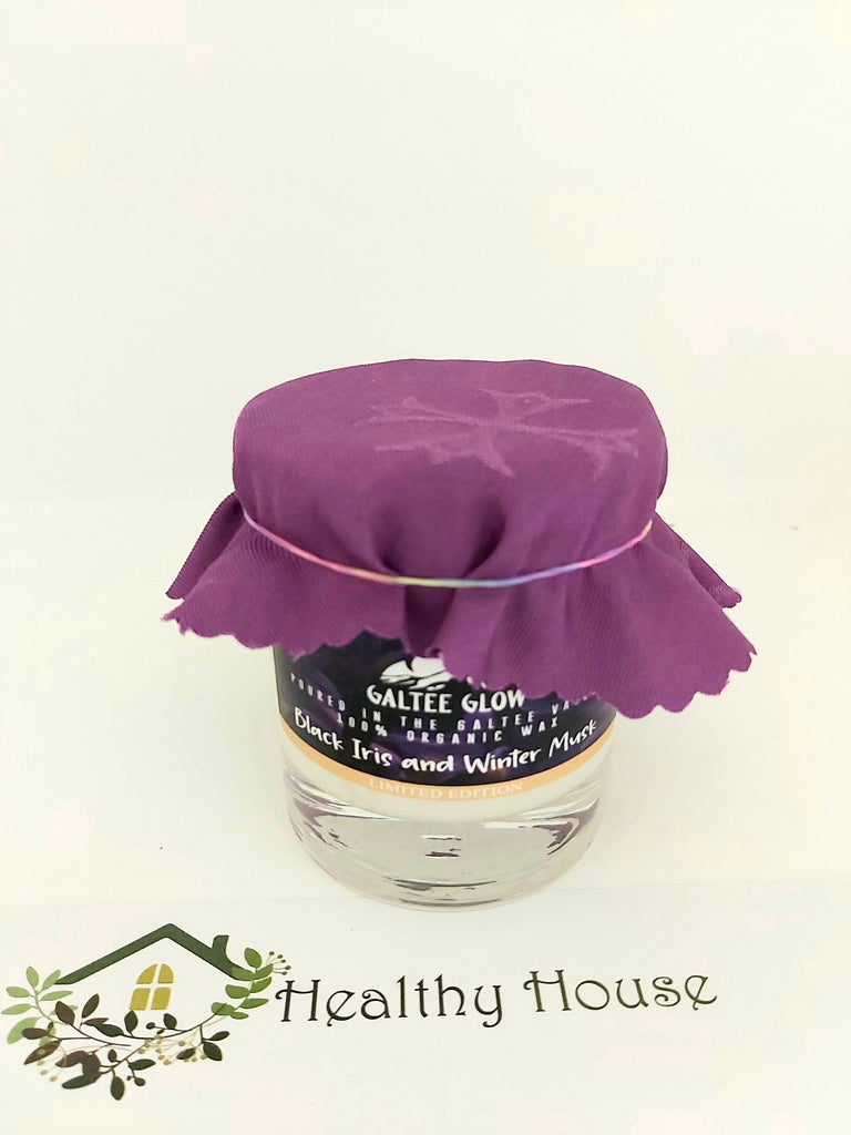 Galtee Glow Black Iris and Winter Musk Candle