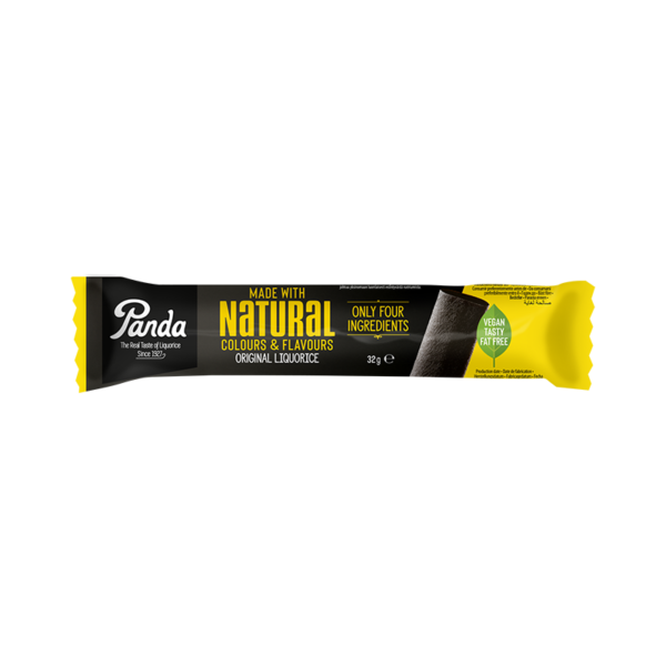 Panda Single Natural Liquorice Bar 32g