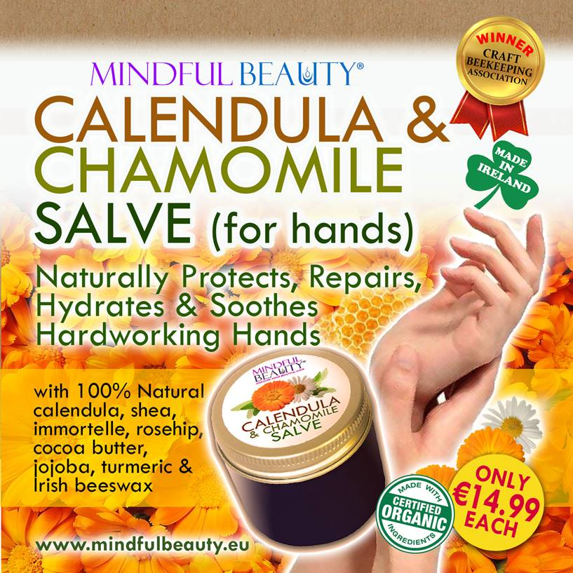 Mindful Beauty Calendula & Chamomile Salve
