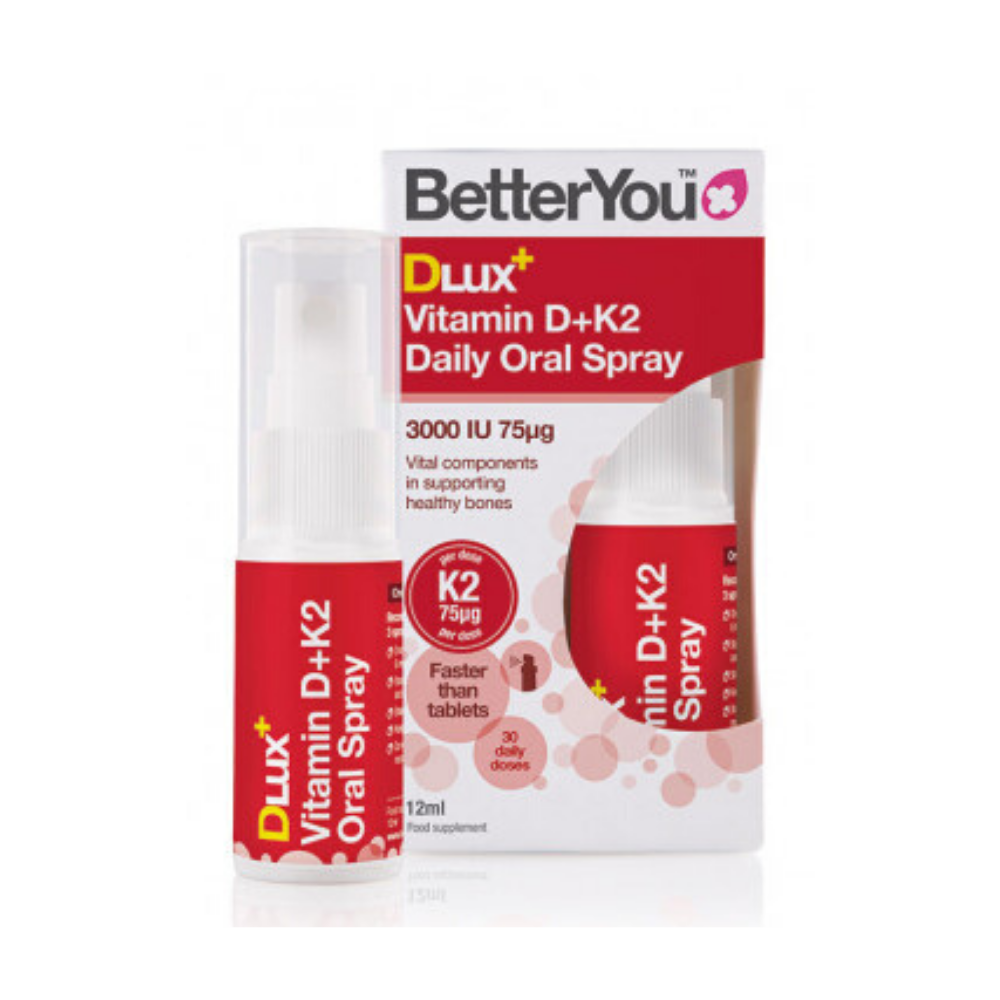 Better You DLux Vitamin D+K2 Daily Oral Spray