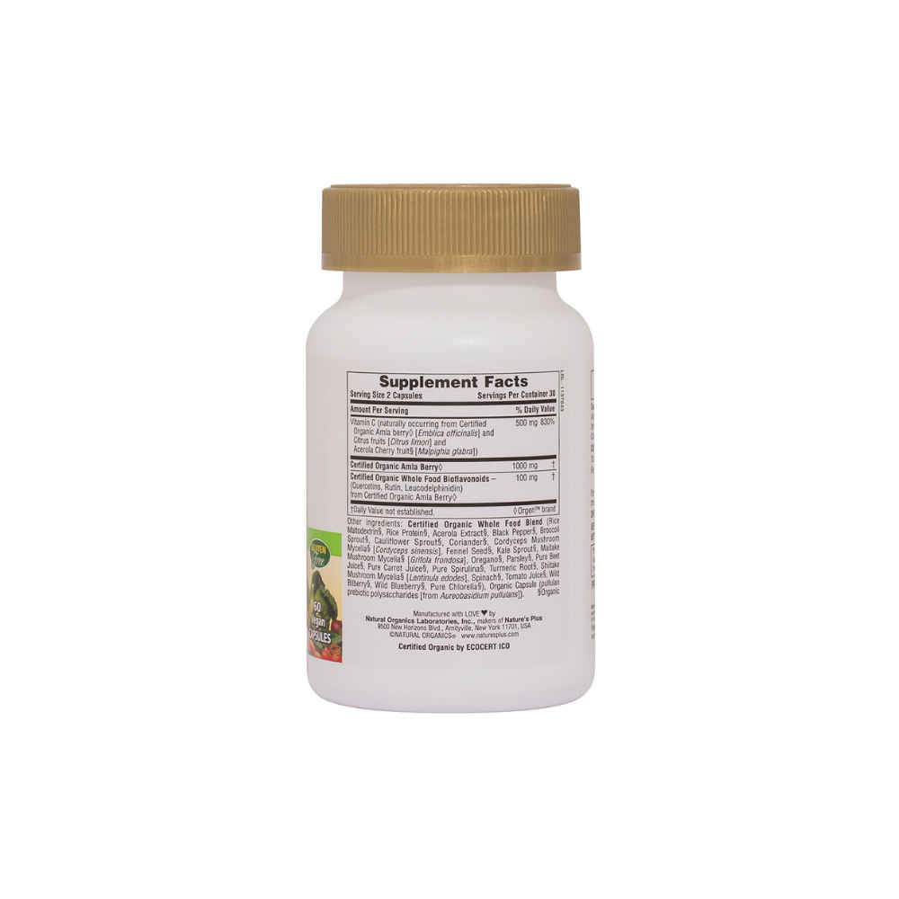 Source of Life Garden Vitamin C 500 mg Vcaps