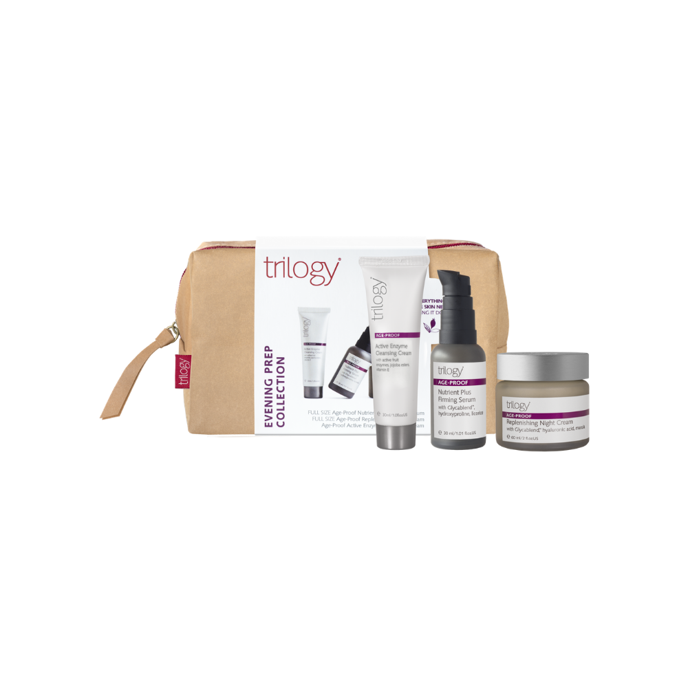 Trilogy Age-Proof Evening Prep Collection