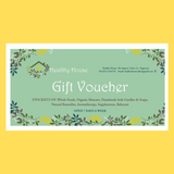 Healthy House Gift Voucher