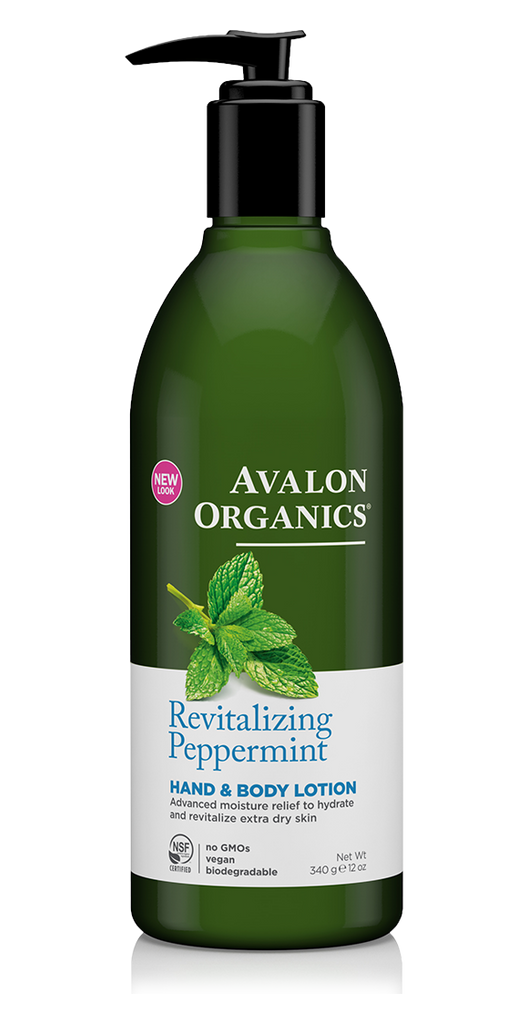Avalon Organics Revitalising Peppermint Body Lotion