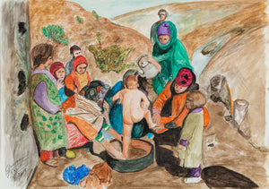 Life Paintings - Morocco - Pendza