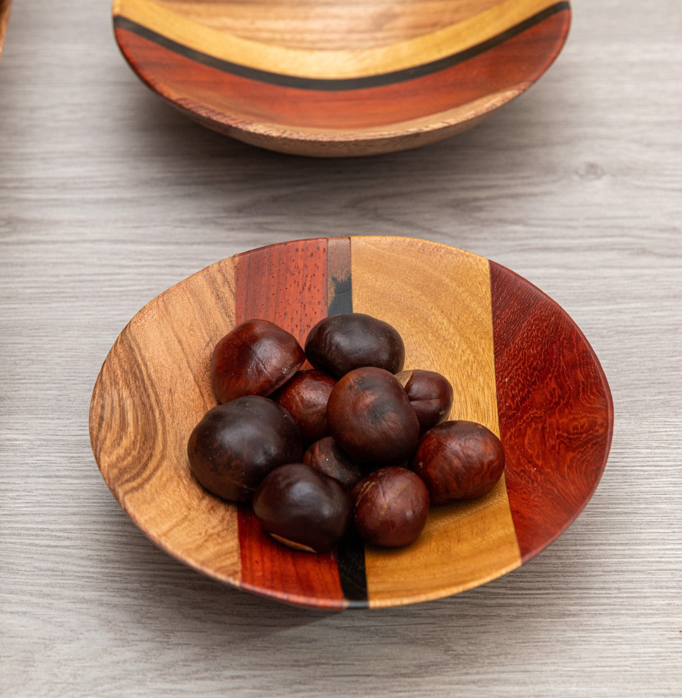 Striped Bowls (Set of 3) - Cameroon - Pendza