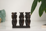 Three Wise Monkeys - Cameroon - Pendza
