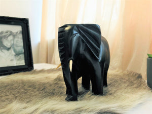 Dark Wood Elephant - Cameroon - Pendza
