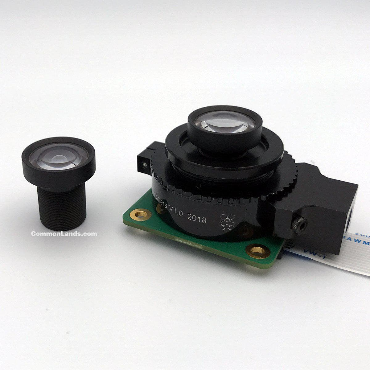 A wide angle, low distortion, 4.2mm S Mount Lens for 12MP+ M12 Cameras such as the Raspberry Pi HQ.
