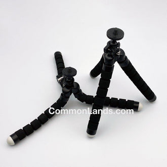 Flexible Tripod Mount for Miniature Cameras.