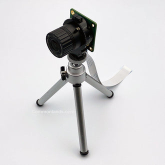 Raspberry Pi High Quality pictured with this Miniature Tripod.