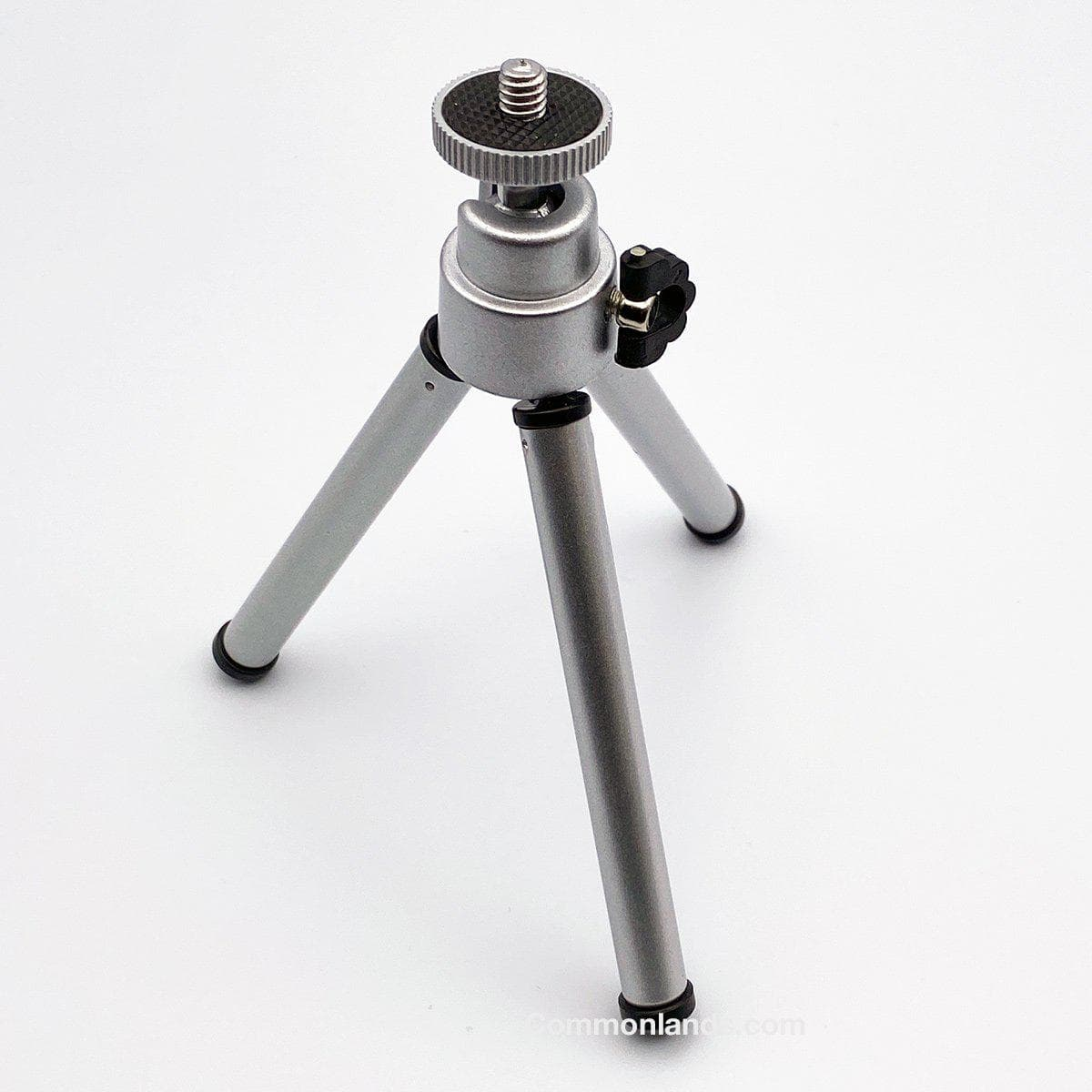 Telescoping Desktop Tripod for Webcams.