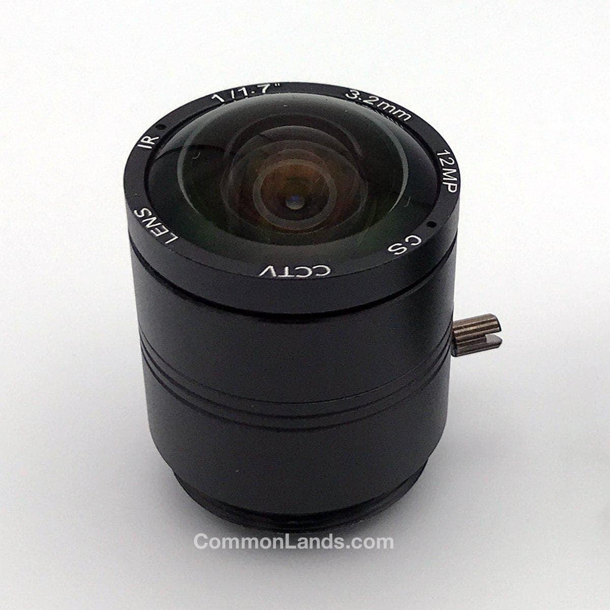 A 3.2mm CS Mount Lens for a Wide Lens Security Camera