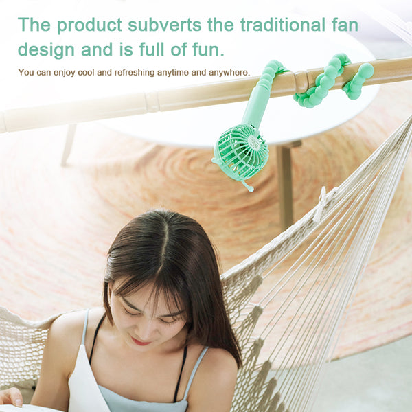 Portable Fan Changeable Caterpillar Creative Fan
