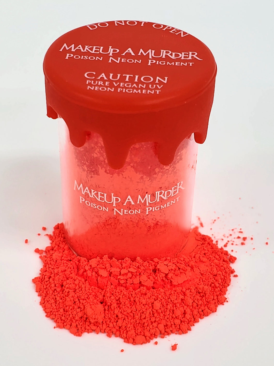 REVAMPED Coral Red Poison Neon Pigment