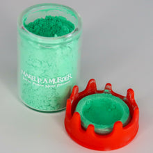 Load image into Gallery viewer, Green Pastel Poison Neon (Bloody Drip Jar)