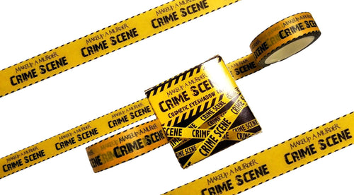 Crime Scene Eyeshadow Tape