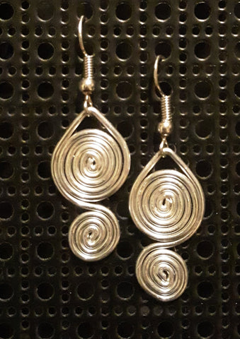 Handmade Aluminum Earrings