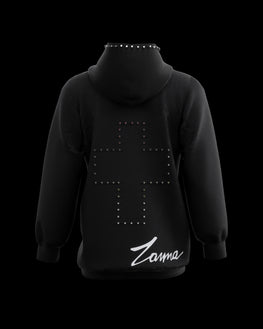 "LIMITED EDITION 2020 | Black ""Studded"" Hoodie - ZANNA"