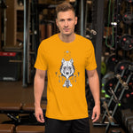 Load image into Gallery viewer, Draw Wolf Men T-Shirt