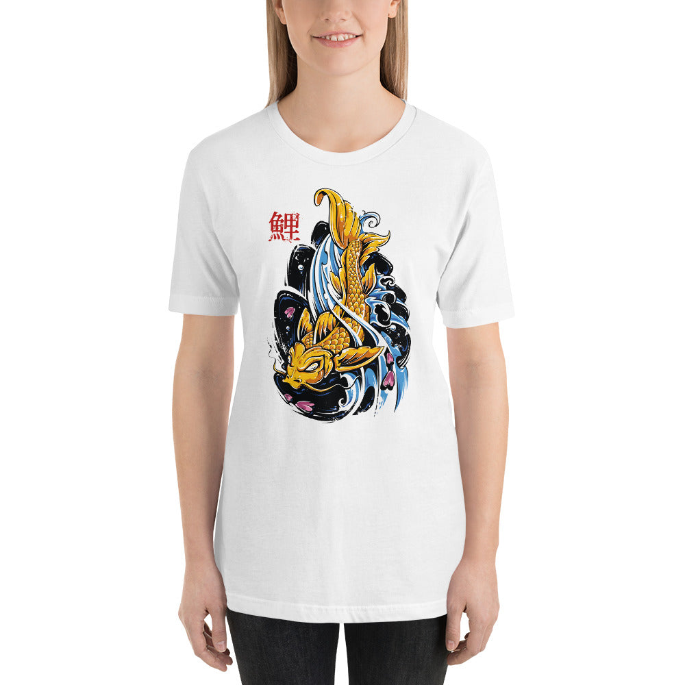 Watercolor Fish Women T-Shirt