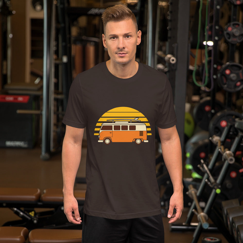 Vintage Minivan Men T-Shirt