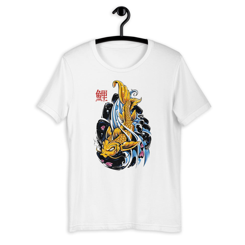 Watercolor Fish Men T-Shirt