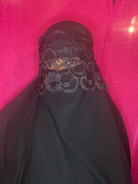 Lace Make up Niqab