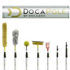 DocaPole 5-12 ft Extension Pole + Roof Rake (2021 Model)