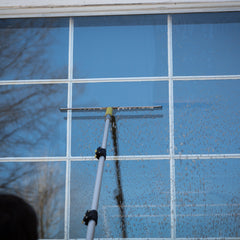 12ft DocaPole + Pro Window Squeegee (3 Large Sized Blades)