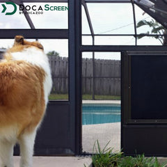 "DocaScreen Pet Screen Roll – 36"" x 50' Pet Proof Screen"