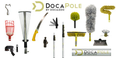 DocaPole Microfiber Flex-and-Stay Ceiling Fan Dusting Attachment