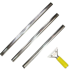 Pro Window Squeegee (3 Large Sized Blades)
